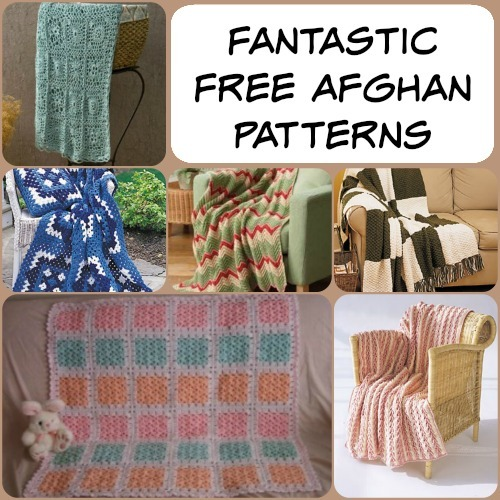 66 Fantastic Free Afghan Patterns + 5 New Crochet Afghan Patterns ...