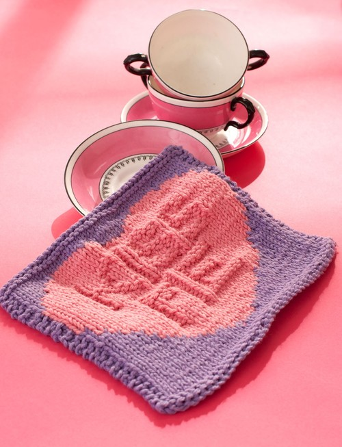 Kiss Me Candy Dishcloth