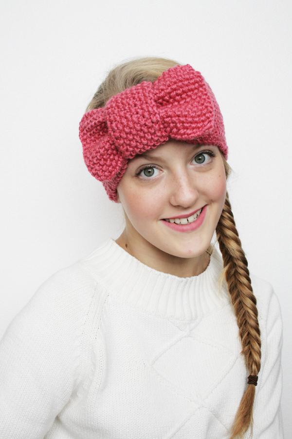 Pretty Girl Chic Headband Allfreeknitting Com