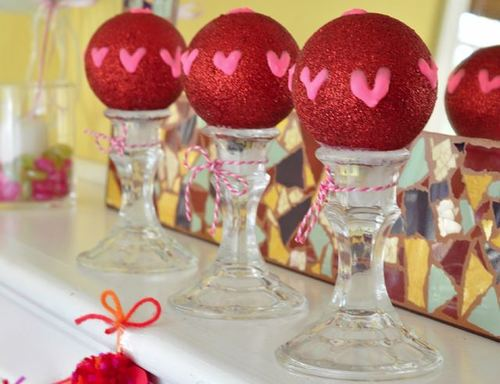 5 Minute Homemade Valentines Day Decorations