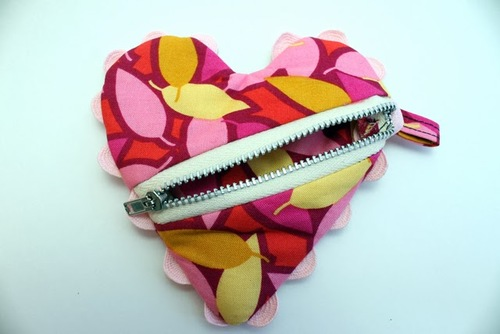 Change of Heart Coin Purse Pattern