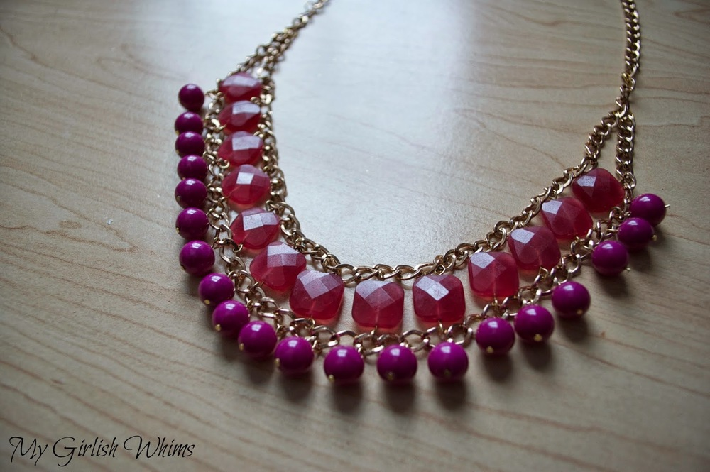 how to make a beaded chain necklace