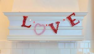 Fall in Love Puzzle Piece Garland
