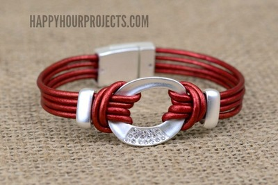 Alluring Leather Cord Bracelet