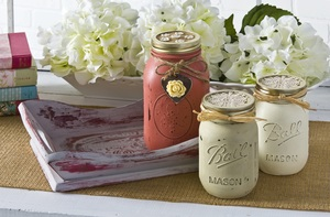 Charming Country Mason Jars