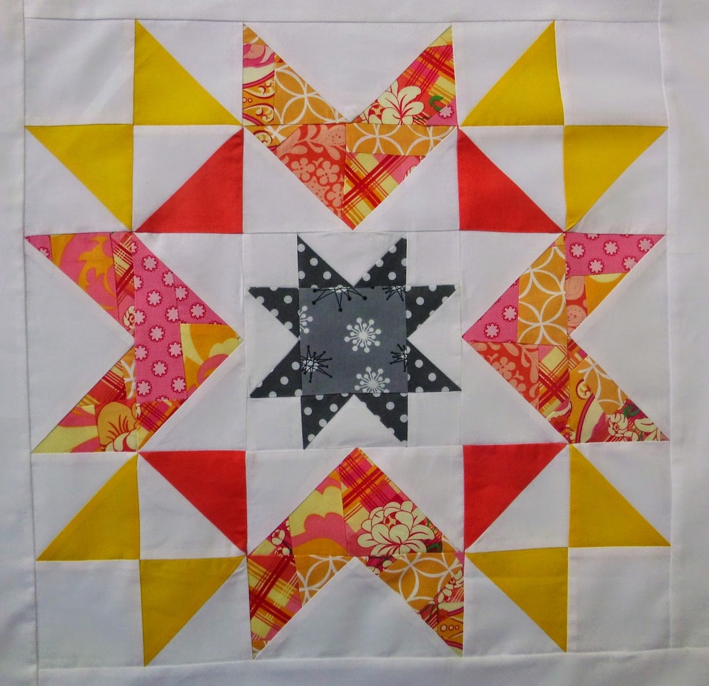 Megan S Star Block Tutorial Favequilts Com