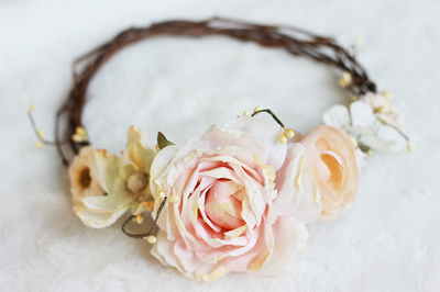 How to make flower crowns out of fake flowers