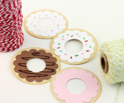 DIY Delightful Donut Gift Tags