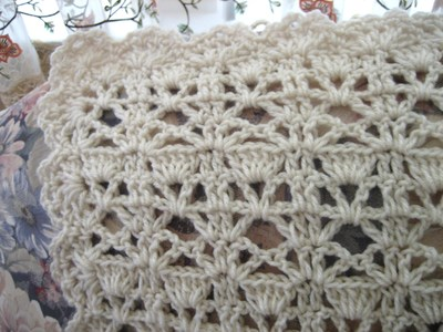vintage lace crochet afghan closeup Large400 ID 840147 - OH BABY Giveaway