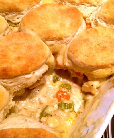 Creamy Country Chicken Pie
