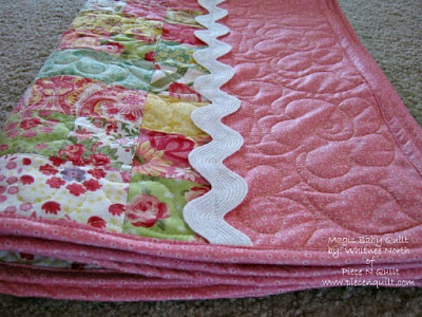 Magic Jelly Roll Quilt Favequilts Com