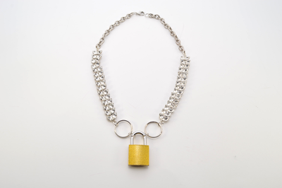 Gorgeous Golden Lock Necklace