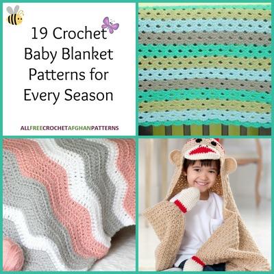 19 Crochet Baby Blanket Patterns For Every Season