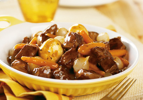 Totally Simple Beef Bourguignon