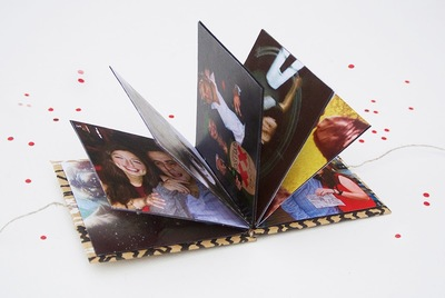 Romantic Mini Instagram Photo Book