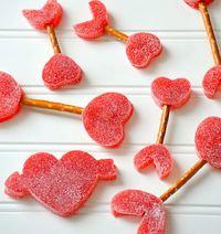 Cupid's Arrows Edible Craft