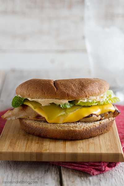 Carls Jr Copycat Santa Fe Grilled Chicken Sandwich