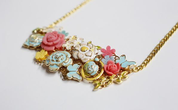 Bring May Flowers Necklace