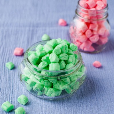 Colorful Old-Fashioned Butter Mints