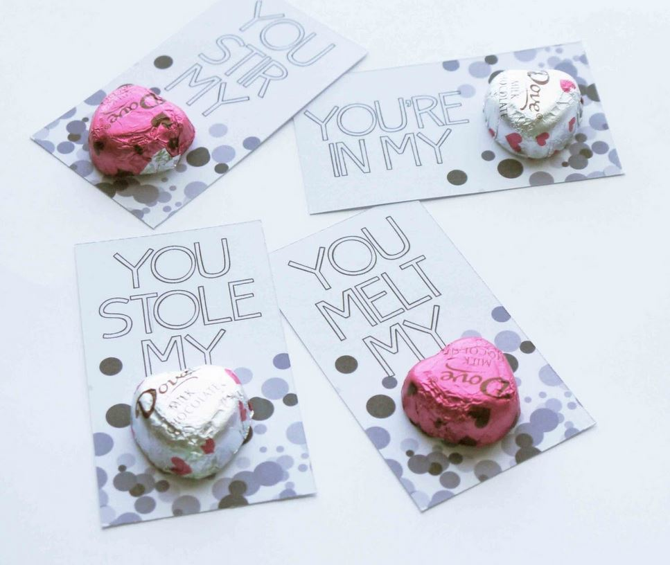 conversation hearts valentines day cards printable allfreeholidaycrafts 6067