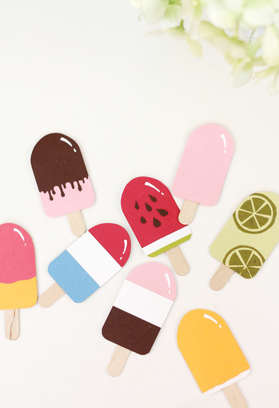 Super Sweet Paper Punch Popsicles
