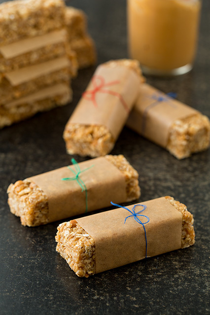 Easy Chewy Peanut Butter Bars