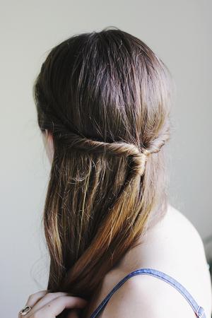 Gorgeous Twisted Wraparound Hairstyle