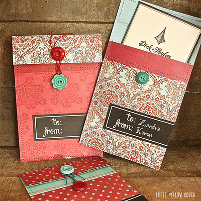 Stunning Scrapbook Paper Envelopes