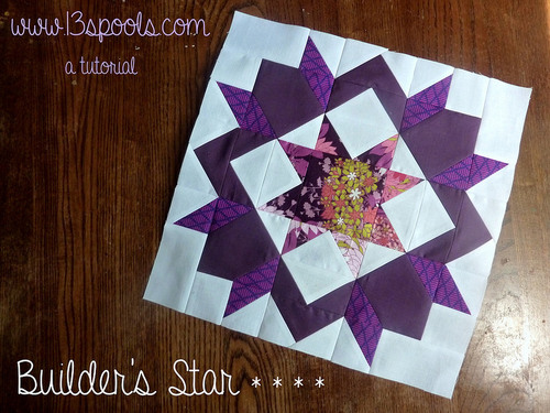 Builders Star Quilt Block