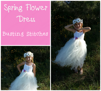 Fresh Spring Flower Dress