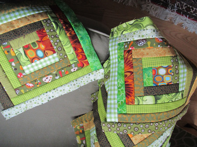 Easy Log Cabin Quilt Block