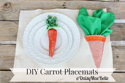 Carrot Easter Craft Ideas