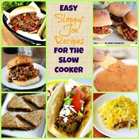 11 Easy Slow Cooker Sloppy Joes Recipes