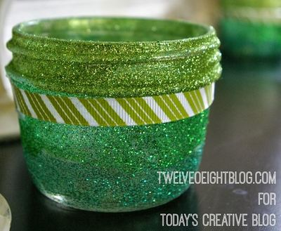 Lucky Glitter Votives