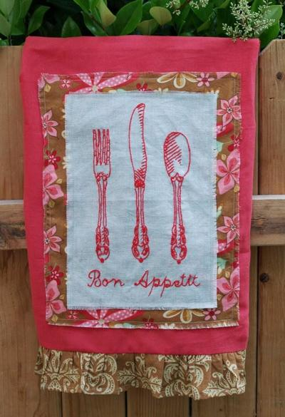 Vintage French Dishtowels