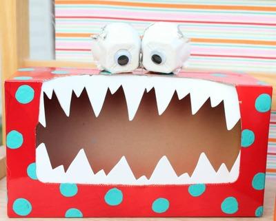 Silly Monster Valentine Box  sc 1 st  All Free Holiday Crafts & Silly Monster Valentine Box | AllFreeHolidayCrafts.com Aboutintivar.Com