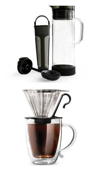 Primula Pour Over Coffee Maker and Cold Brew Iced Coffee Maker