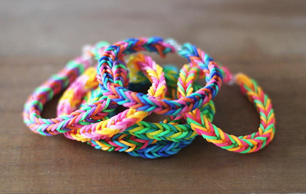 Ravishing Rainbow Fishtail Bracelet