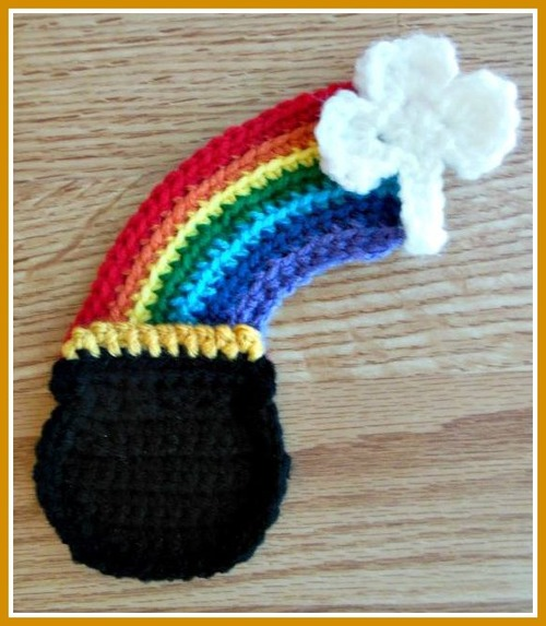 St Patricks Day Pot of Gold Crochet Pattern