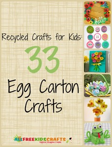 Recycled Crafts for Kids: 33 Egg Carton Crafts