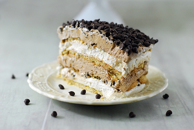 Chocolate Chip Mocha Dessert Lasagna