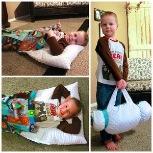 DIY Nap Sack Roll