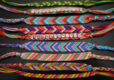 Summer Friendship Bracelets