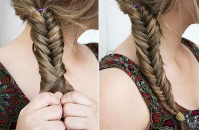 DIY Fishtail Plait