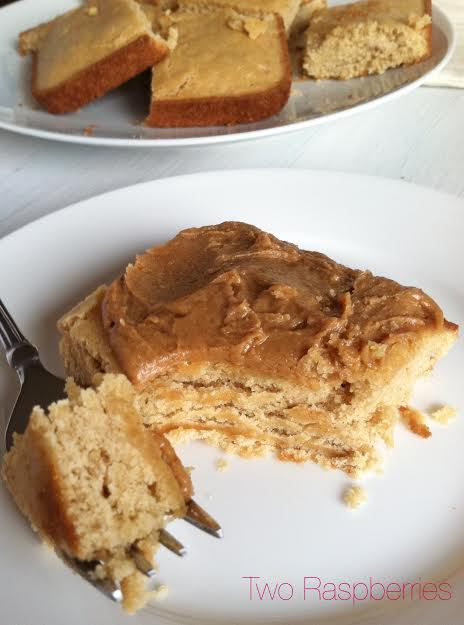 Quick and Easy Peanut Butter Cake