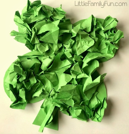 Four Leaf Clover Paper Crafts