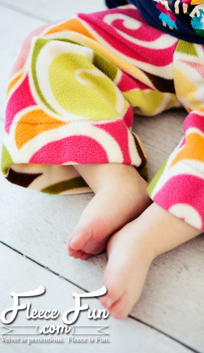 Fleece Pants Pattern