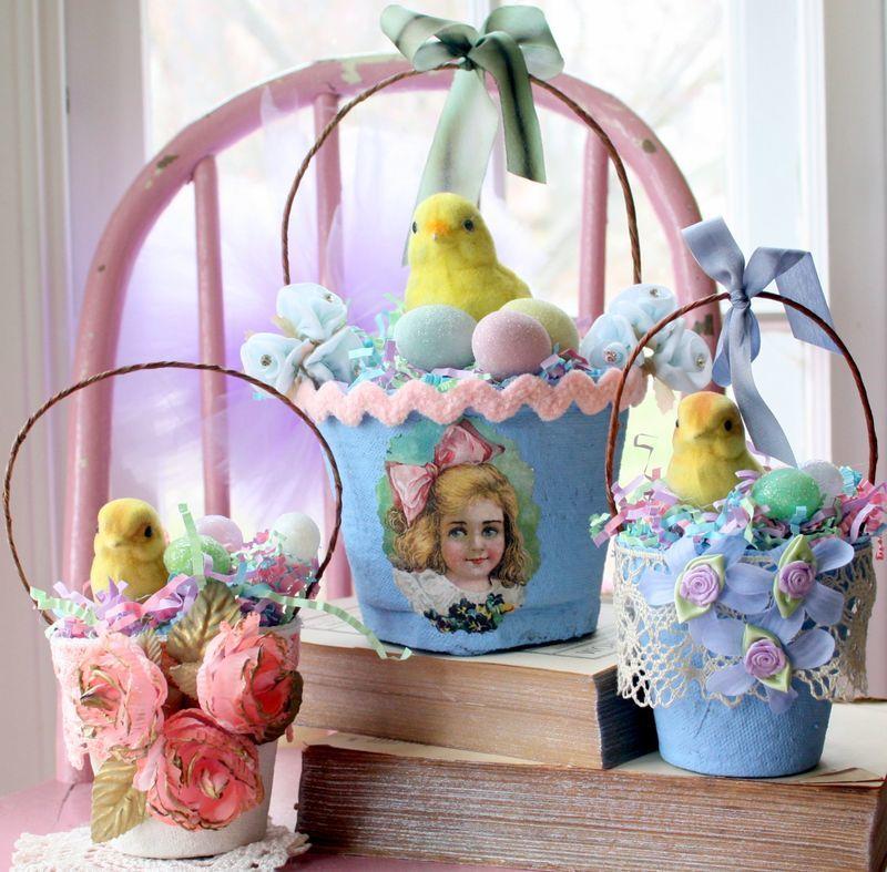 Vintage Basket Easter Craft Project Favecrafts Com