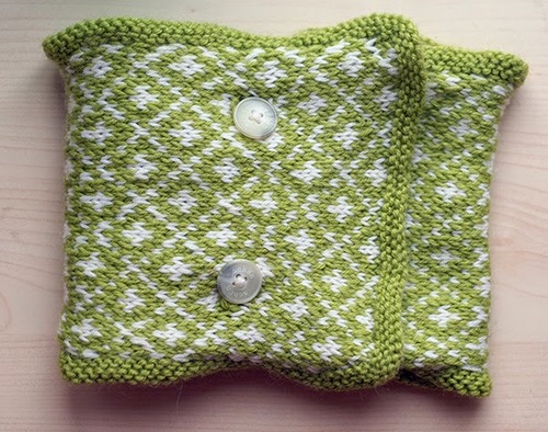 Sour Apple Easy Knit Cowl