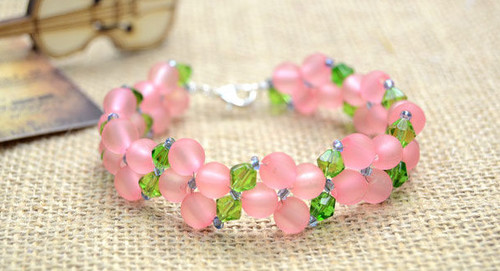 Beautiful Basic Right Angle Weave Bracelet